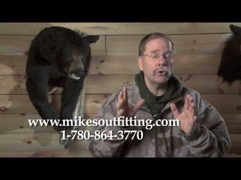 Tom Nelson, American Archer TV: Awesome Black Bear Hunting In Alberta Canada With Mike's Outfitting