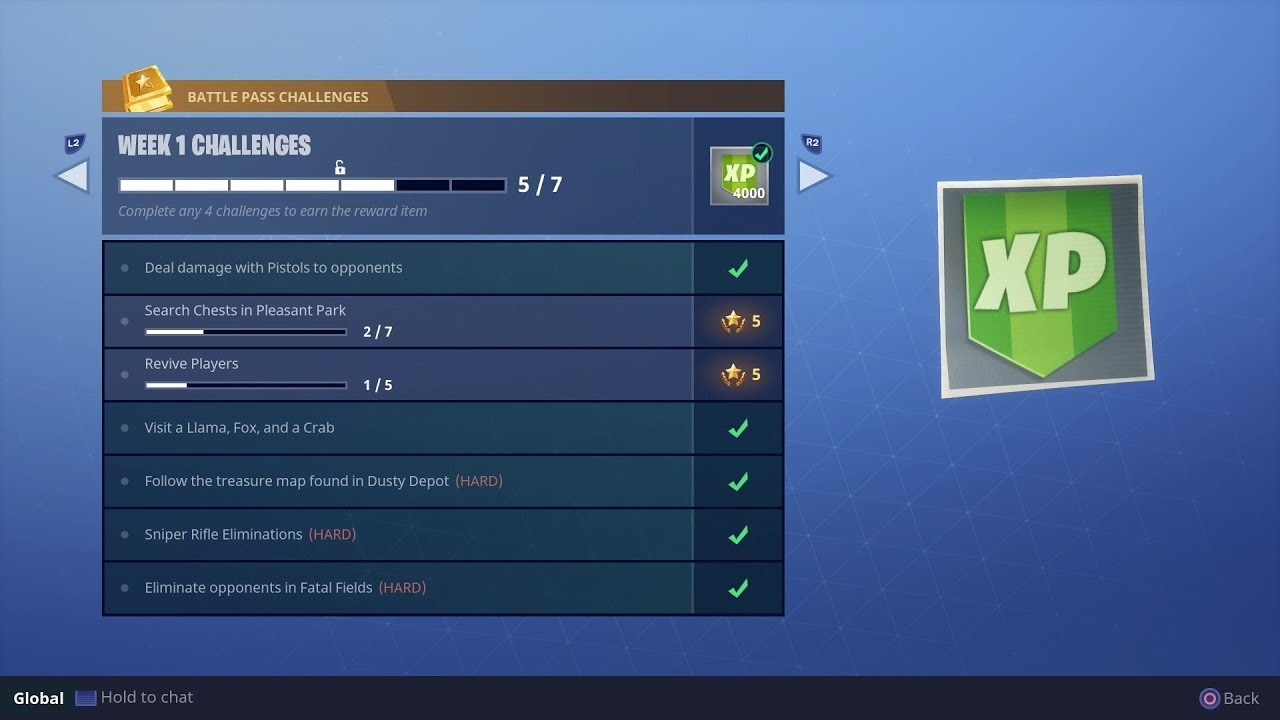 Extremely Easy How To Do Week 1 Challenges Battle Pass Fortnite