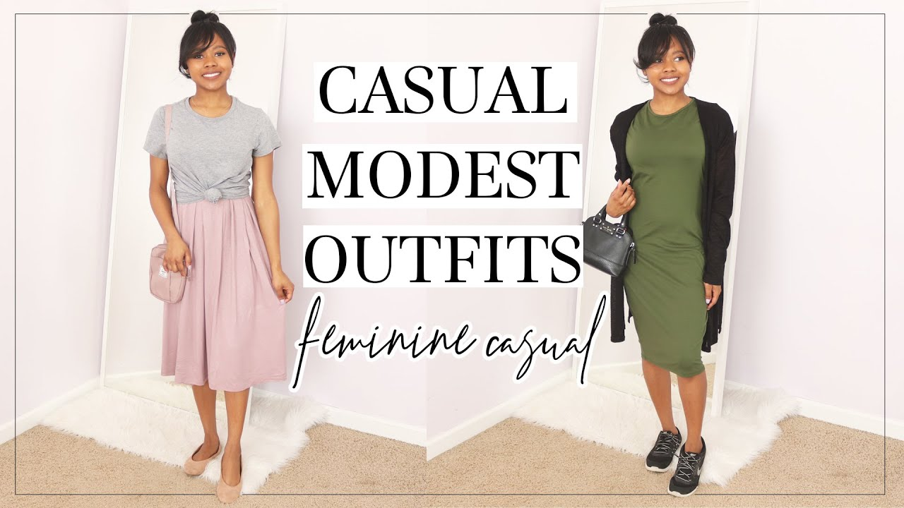 Casual Modest Outfits | Modest Lookbook