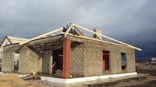 Строительство одноэтажного дома на УШП своими руками, часть 1(Как мы собственными руками начали строительство жилого дома в 2015г., что и как было сделано., 2016-06-26T08:46:51.000Z)