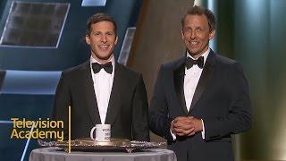 Emmys 2015 Best Moments | Lorne Michaels Wins Best Boss