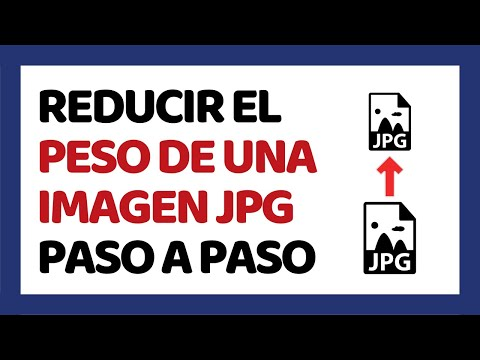 Reducir peso de imagen jpg