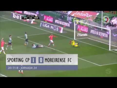 Resumo: Sporting 1-0 Moreirense (Liga 24ª J)