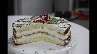 Бисквитный торт легкий рецепт