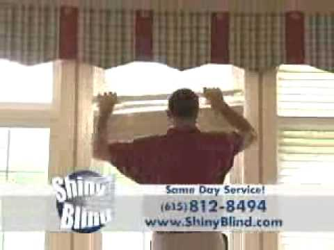 Mobile Ultrasonic Blind Cleaning