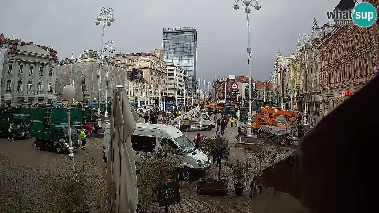 Potres Trg B J Jelacica Zagreb 29 12 2020 Youtube