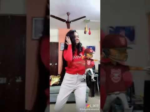 Anushka Sen and the IPL horn