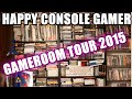 MY GAME ROOM TOUR 2015 - Happy Console Gamer