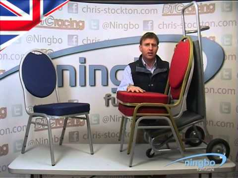 Ningbo Stacking Spoonback Chair - Steel no arms