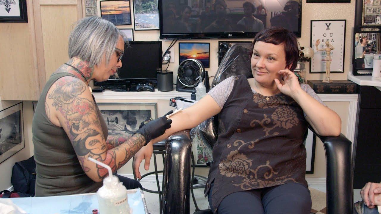 e8414e2a2f8ae Women's traditional chin tattoos are making a comeback in Alaska