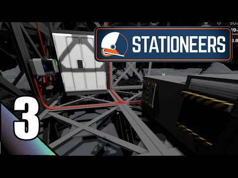 Stationeers 3:  Lights, Storage, A Complete Base Redesign!  Let