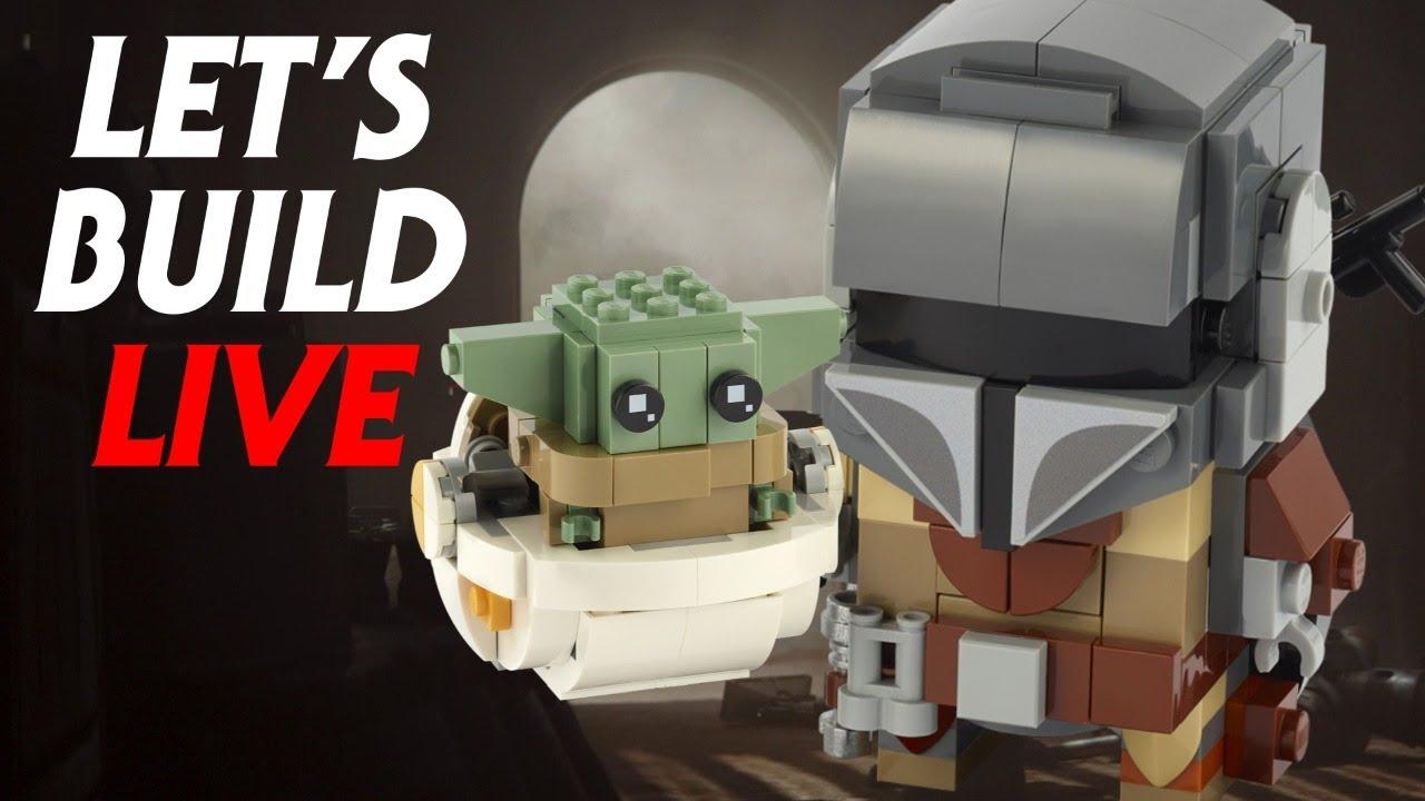 Let's Build Baby Yoda LIVE!