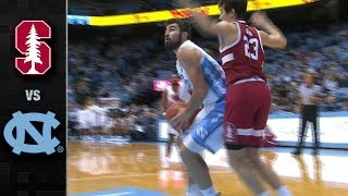 Stanford vs North Carolina Basketball Highlights (2018-19)