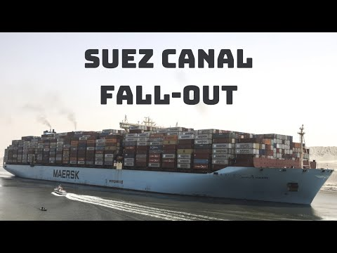 Egyptian officials rally for $1B compensation deal over Suez Canal blocked