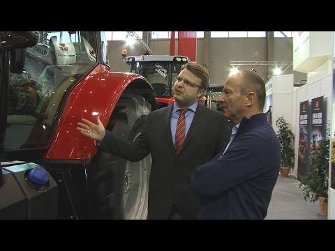 Újdonságok a Massey Ferguson-tól. Az Austro Diesel GmbH az AGROmashEXPO-n.