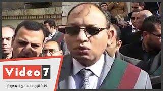 بالفيديو.. محامو الإدارات القانونية ينظمون وقفة على سلالم النقابة للمطالبة بالاستقلال
