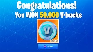 "* NUEVO * 50,000 GRATIS V-Bucks GAMEMODE en Fortnite! - ""Solo Showdown"" LTM Gamemode GAMEPLAY!"