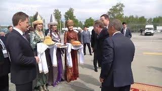 Премьер министр Беларуси прибыл в Казань