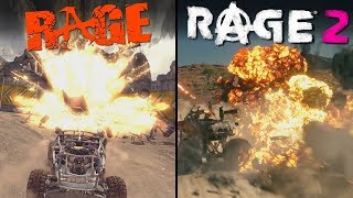 RAGE 2 vs RAGE | Direct Comparison