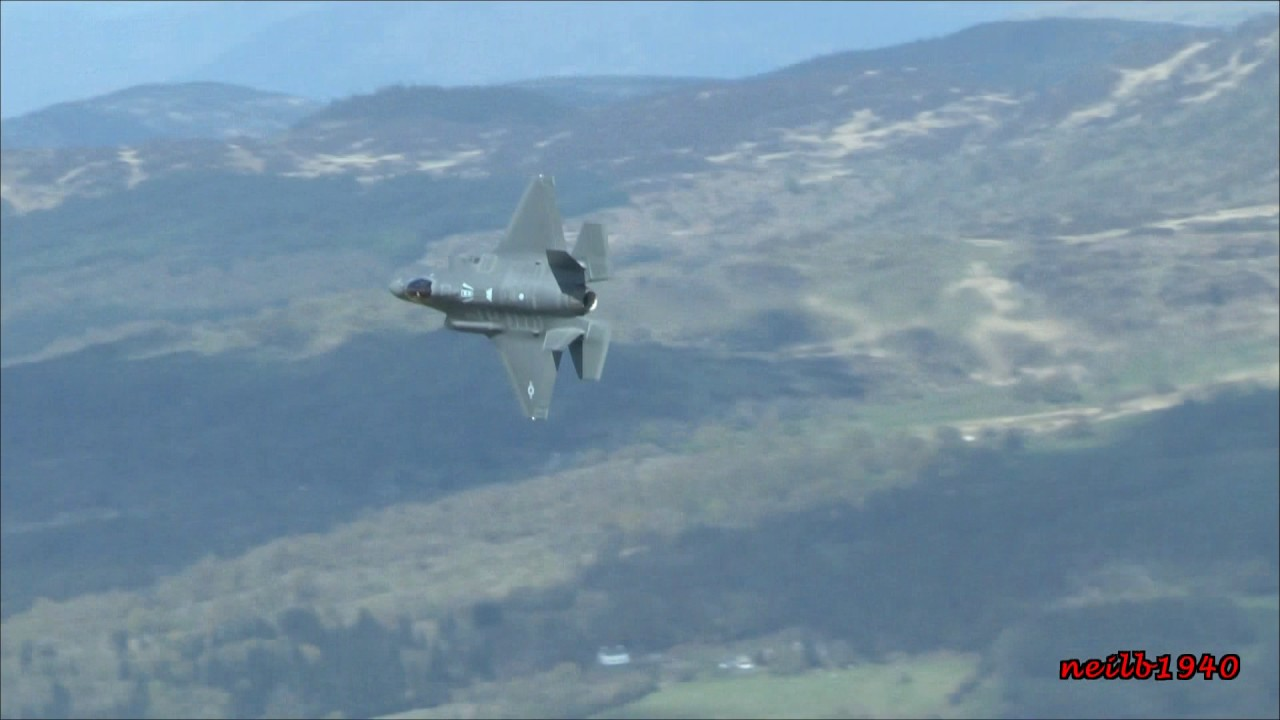 F35 S Mach Loop Low Level Wales Doovi