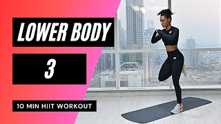 No. 26 | INTENSE BOOTY & THIGH WORKOUT - Low Impact Modifications Included