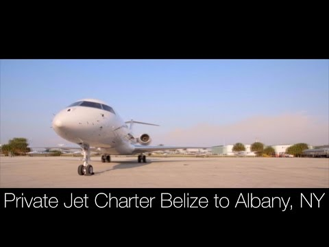 Private Jet Charter Belize to Albany, NY