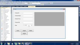 How To Insert , Update , Delete , Fetch , Search In C# Layer using store procedure Part 5