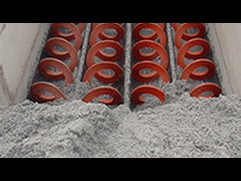 Applications and Materials transported by Shaftless Spiral Conveyor from  SPIRAC
