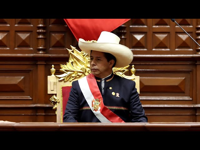 Primer Mensaje a la Nación del presidente Pedro Castillo - 28/07/2021