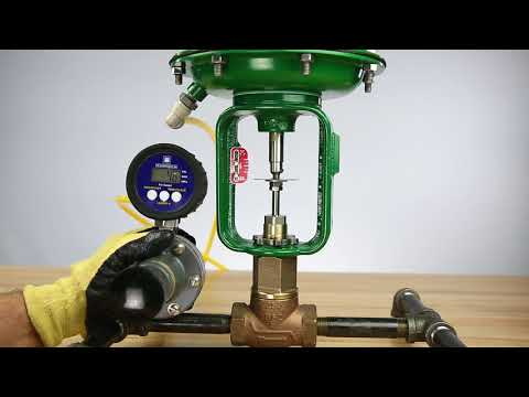 How To Set Bench Range For An Air-to-Open Baumann Actuator