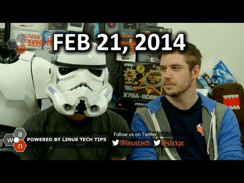 The WAN Show: VALVE SPYING ON US?? GTX 750 Ti Launch - Feb 21st, 2014