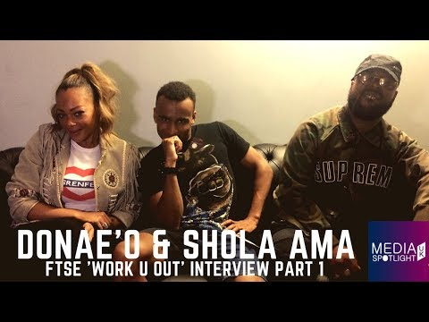 Donae'o & Shola Ama: First Ever UKG Rave, FTSE, Integrity of UKG (pt 1): Media Spotlight UK