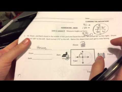 Unit 5 Geometry: Lesson 9 Measuring Angles as Turns