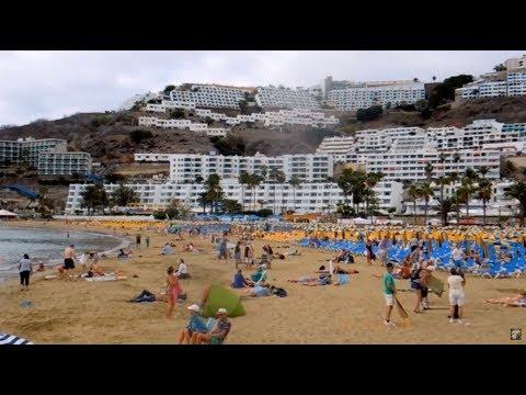 Puerto Rico, Gran Canaria, Canary Islands, Spain Feb. 01. 2014