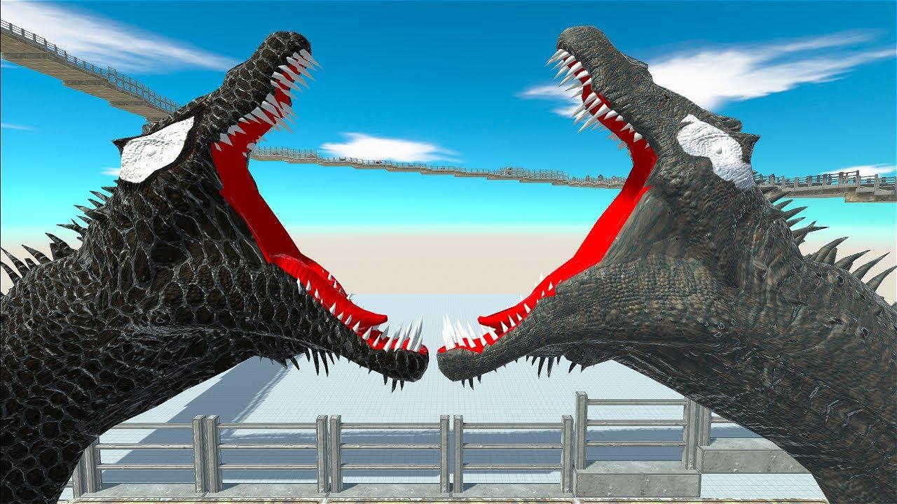 RIOT SPINOSAURUS DEATHCLIMB - Animal Revolt Battle Simulator
