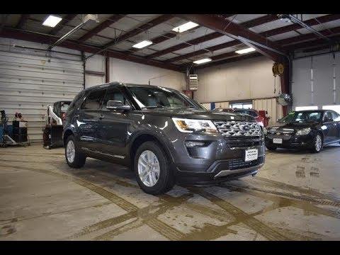 2019 Magnetic Gray Ford Explorer XLT 4x4 FT6651 Motor Inn Auto Group