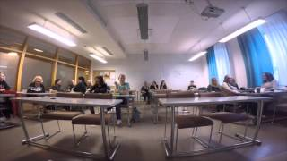 Class discussion in style of speed dating