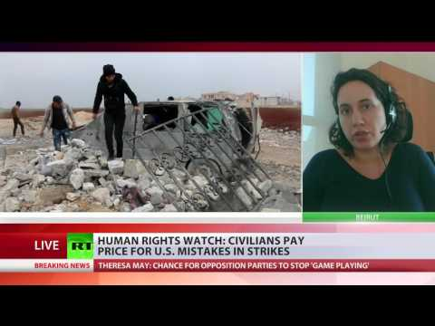 US should have known there would be civilian casualties in Syria mosque strike – HRWl