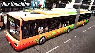 Korki w mieście | Bus Simulator 18 (#19)