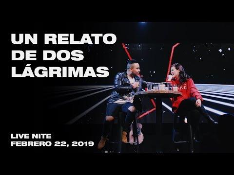 Daniel Aguilar & Kim Richards | Un relato de dos lágrimas | Live Nite