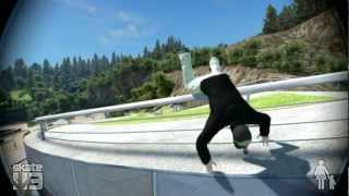 Skate 3 Fails, Bails And Cool Stuff