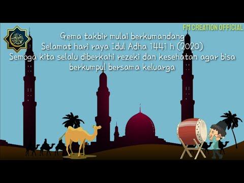 Ucapan Selamat Hari Raya Idul Adha 1441 Hijriah 2020 Iduladha Qurban Youtube