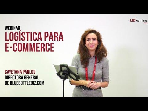 "Webinar ""Logística para e-commerce"" - Cayetana Pablos - LIDlearning"