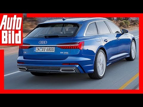 audi a6 avant 2018 review details erkl rung youtube. Black Bedroom Furniture Sets. Home Design Ideas