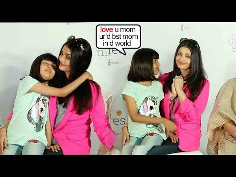 Aishwarya Rai Bachchan Got EM0TIONAL Seeing Daughter Aardhya Show LOVE-N-CARE 4 Her @ChildrensEvent