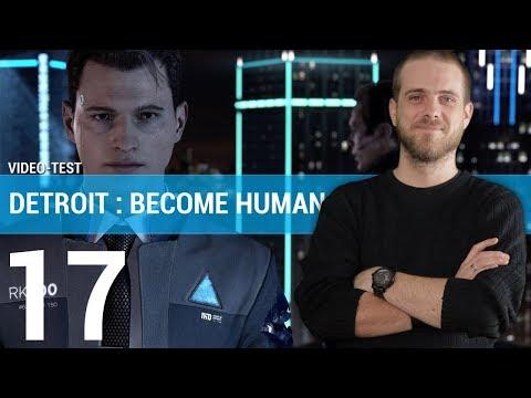 DETROIT BECOME HUMAN :  Quantic Dream à son apothéose ? | GAMEPLAY FR