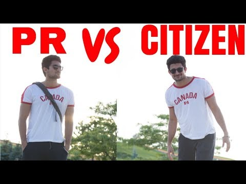PR vs Citizenship CANADA
