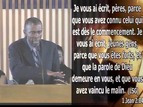 Pierre Michel Joseph - Jeune, prends ta place en Christ (19 janvier 2013)