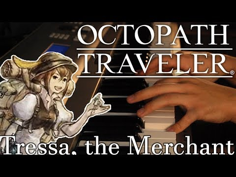 "Octopath Traveler ""Tressa, the Merchant"" 