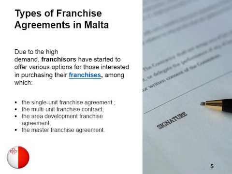 Franchise Agreements In Malta